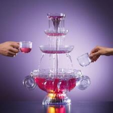 Fontaine à cocktail fountain punch fete soirée anniversaire Neuve + 8 tasses