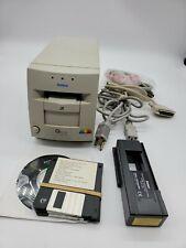 Konica Minolta QScan QS-1202 Film Slide Scanner Box/Accessories 35mm