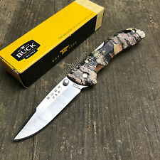 Buck Knives Bantam BBW Mossy Oak Camo 420HC Folding Lockback Knife 284CMS New!