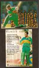 FUTERA 1996 WORLD CUP CRICKET WARRIORS Hansie Cronje (South Africa) WC8 # 0509