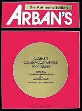 USED (VG) Arban's Complete Conservatory Method for Trumpet (Cornet) or Eb Alto,