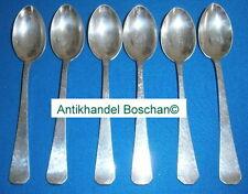 6 Mokka-Löffel Robbe & Berking 800 Silber