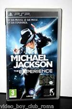 MICHAEL JACKSON THE EXPERIENCE gioco usato ottimo stato versione italiana PSP
