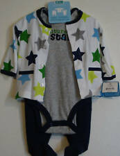 Just One Year 3pc Set Small 0-3 Months NWT BBS020