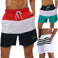 STOCK Mens Swimming Board Shorts Swim Trunks Swimwear Beach Summer Sports Pants