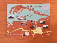 Mint Map Postcard of Blakeney and Blakeney Point, Norfolk by Tony's Postcards