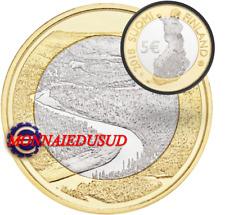 5 Euro Commémorative Finlande 2018 - River Oulankajoki 7/9