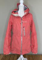 Dakine Women's Full zip Hooded Ski Jacket Shell Size L Pink