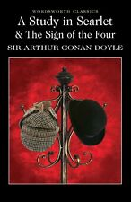 A Study in Scarlet & the Sign of the Four by Sir Arthur Conan Doyle (Paperback)