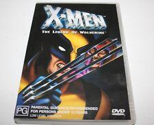 X-Men The Legend Of Wolverine dvd