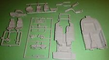 A90CV 90 CORVETTE STOCK CHASSIS w/IRS REAR AXLE Model Car Mountain 1/25
