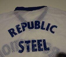 Vintage 1980's Softball Team REPUBLIC STEEL Beer League Jersey T Shirt sz Medium