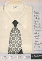 1949 Manhattan Shirt Clothing Vintage Original Advertisement Print Art Ad K97
