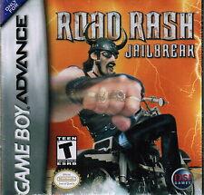 Road Rash Jailbreak 2003 Nintendo Game Boy Advance GBA Racing Video Game