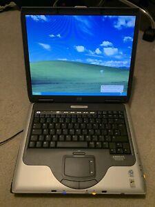 "HP Compaq NX9010 15"" Intel Laptop Windows XP Retro Gaming ATI Radeon Graphics"