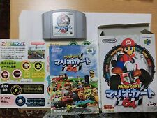 """MARIO KART 64"" with Box & Manual Nintendo 64 N64 Japan Ver. Good condition!"