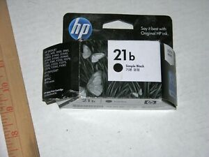 Original HP 21 Black Ink Cartridge Open Boxed New.