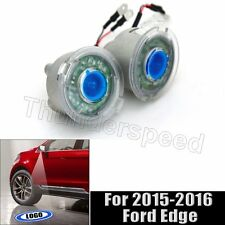2pcs Canbus Led Logo Shadow Light Mirror Mount Ghost Puddle For 2015 Ford Edge
