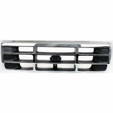 New FO1200173 Chromed Grille for Ford F150 F350 F-250 1992-1997