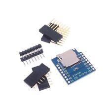 CARTE MICRO SD 1PCS Bouclier Pour wemos D1 Mini TF wifi ESP8266 Arduino NEW-UK