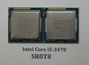 PAIR - Intel Core i5-3470 SR0T8 CPU Processor Chip
