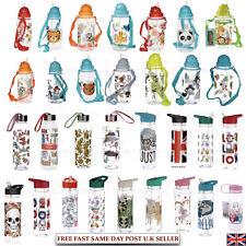 Kids Children Toddler Water Bottle Panda Unicorn Animals Cat BPA Free