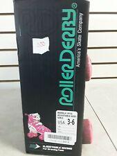 Roller Derby Youth Girl's Adjustable Roller Skate 1972L Size 3-6 (Shelf 50)(J)