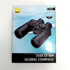 Nikon Binoculars 7X50CF WP GLOBAL COMPASS Roof Prism type 7X50GC New