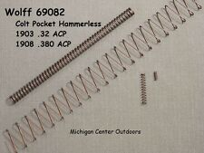 Wolff SPRING KIT for Colt Pocket Hammerless 1903 .32 ACP 1908 .380 ACP 69082 USA
