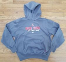 Boston Red Sox MLB Baseball Majestic Therma base Hoodie Sweatshirt Youth Large