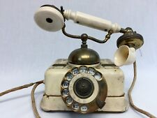 1897 Rare Antique Cradle Desk Telephone Kjobenhavns Telefon Aktieselskab Denmark