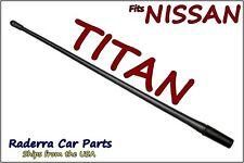 "FITS: 2004-2018 Nissan Titan - 13"" SHORT Custom Flexible Rubber Antenna Mast"