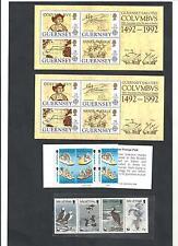 Kanalinseln 1989 - 1993, Kleines Los **, postfrisch **, Michelwert € 35,00 /S626