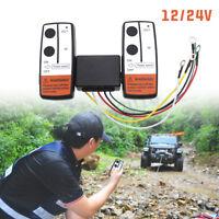 12V/24V Universal Wireless-seilwinde Fernbedienung Twin Mobilteil