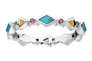 Thomas Sabo Jewelry Women's Ring Colourful Stones TR2229-984-7