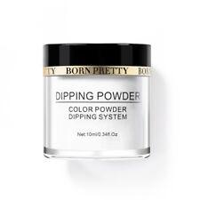 10ml BORN PRETTY Dipping Powder Natural White Dry Long Lasting French Nail Decor