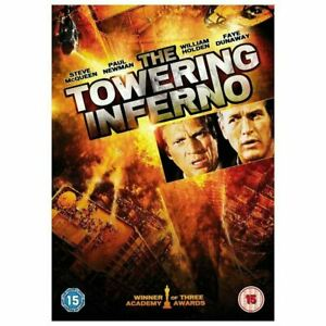 THE TOWERING INFERNO (1974) Region 4 [DVD] Steve McQueen