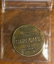 1920's Barnums,Brooklyn,New York Swastika Good Luck Token