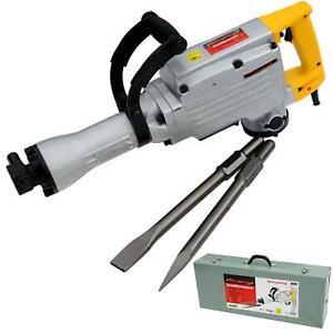 Neilsen 110v Electric Demolition Jack Hammer Drill Concrete Breaker Chisel 1500w