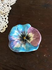 Stangl Very Rare Pottery Small Flower Plate Dish