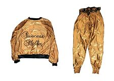 WWE CARMELLA RING WORN HAND SIGNED JACKET AND PANTS WITH PICTURE PROOF AND COA