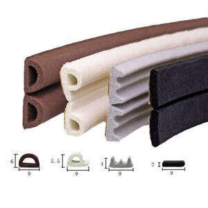 EPDM Weatherbar Soundproof Draft Self Adhesive Rubber Door Window Seal Strip
