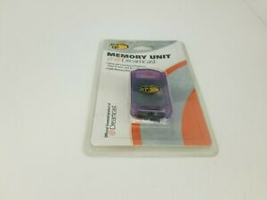 NEW Factory sealed PURPLE Mad Catz 128K Memory card  for Sega Dreamcast G81