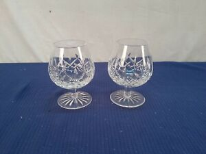 Waterford Crystal Set Of 2 Brandy Cognac Sniffer Glasses (S12)