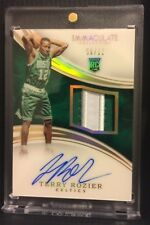 Terry Rozier 2015-16 IMMACULATE #115 ROOKIE ACETATE RPA RC PATCH AUTO SP 06/12!