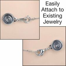 Locking Magnetic Clasps - Set of 4 SILVER