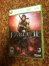 Fable 2 - Fable II (Microsoft Xbox 360, 2008) - Works on Xbox One - COMPLETE