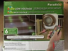 Paradise Gl28103Ss6 Led Deck Light Kit Multi-Color