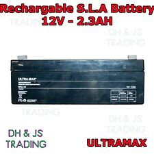 Ultra Max 12V 2.3AH Battery Alarm Security Response Solar Alarm & Bell