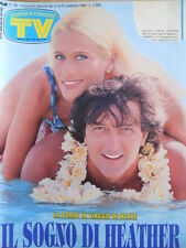 TV Sorrisi e Canzoni n°46 1993 Heather Parisi Francesco De Gregori  [D38]
